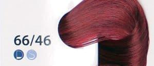 Крем краска ESTEL DE LUXE 66/46 Темно-русый медно-фиолетовый, 60 мл