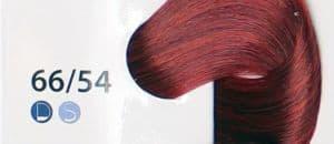 Крем краска ESTEL DE LUXE 66/54 Темно-русый красно-медный, 60 мл