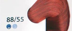 Крем краска ESTEL DE LUXE 88/55 Светло-русый красный интенсивный, 60 мл
