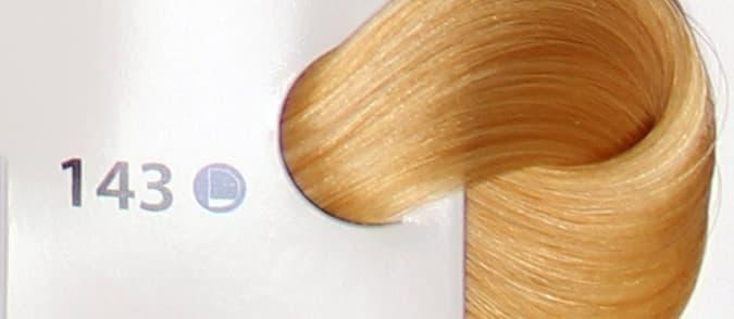 Крем краска ESTEL DE LUXE 143 Медно-золотистый блондин ультра, 60 мл