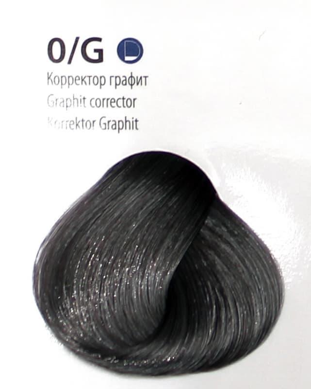 Крем краска ESTEL DE LUXE Корректор 0/G Графит, 60 мл