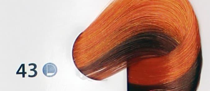 Крем краска ESTEL DE LUXE крем краска для волос 43 Медно-золотистый, 60 мл
