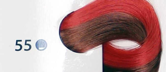 Крем краска ESTEL DE LUXE 55 Красный, 60 мл