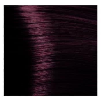 Крем краска Kapous Hyaluronic 4/6 Красно-коричневый, 100 мл