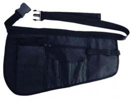 Чехол для парикмахерских инструментов на пояс DEWAL, полимерный материал,черный,43х27см