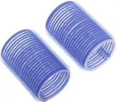 Бигуди-липучки DEWAL, синие d 78мм 6шт/уп