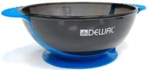 Чаша для краски DEWAL, синяя, с двумя ручками с прорезиненной вставкой 300 мл Новинка