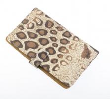 "Футляр для 4х ножниц DEWAL, полимерный материал,""Леопард"",13,5х23х2см"