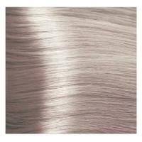 Крем краска Kapous Hyaluronic 10/23 Перламутрово-бежевый платиновый блонд, 100 мл