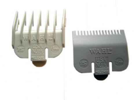 Набор насадок  для машинок WAHL 1.5 мм и 4.5 мм