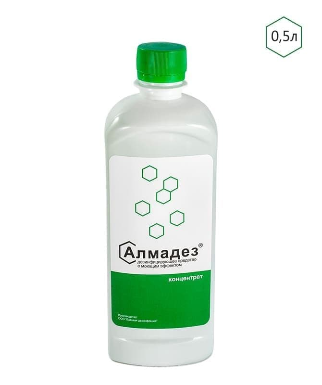 Дезинфицирующее средство-концентрат Алмадез, 500 мл
