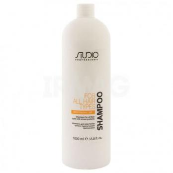 Шампунь для всех типов волос с пшеничными протеинами, 1000 мл