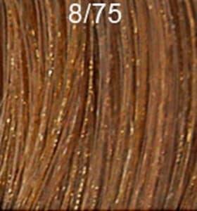 Крем краска ESTEL DE LUXE 8/75 Светло-Русый коричнево-красный, 60мл