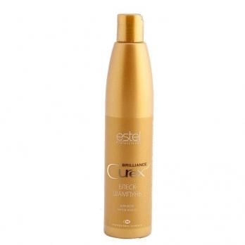 ESTEL CUREX BRILLIANCE Блеск-шампунь для волос, 300 мл
