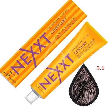 NEXXT Крем-краска 5-1 Светлый шатен пепельный 100мл.