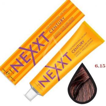 NEXXT Крем-краска 6-15 Темно-русый пепельно-красный 100мл.