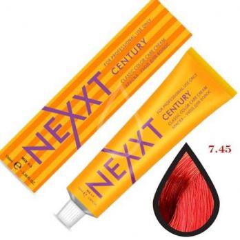 NEXXT Крем-краска 7-45 Темно-русый медно-красный