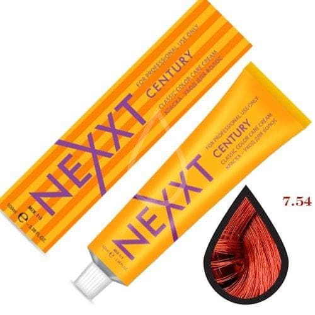 NEXXT Крем-краска 7-54 Средне-русый красно-медный 100мл.