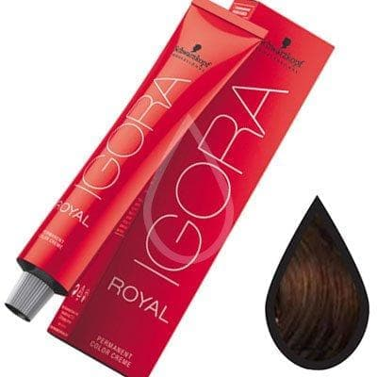 Крем краска SCHWARZKOPF IGORA ROYAL 6-63 Темный-русый шоколадный матовый