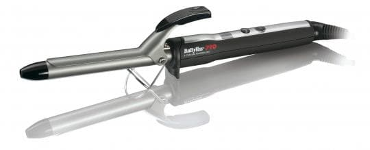 Плойка BaByliss Pro Titanium Tourmaline, c электронным терморегулятором, 19 мм, титаново-турмалиновое покрытие